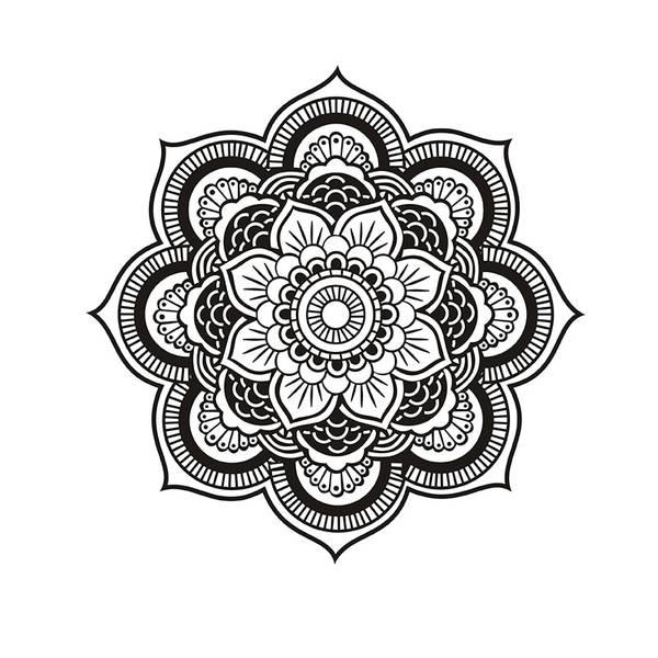 mandala disney coloriage