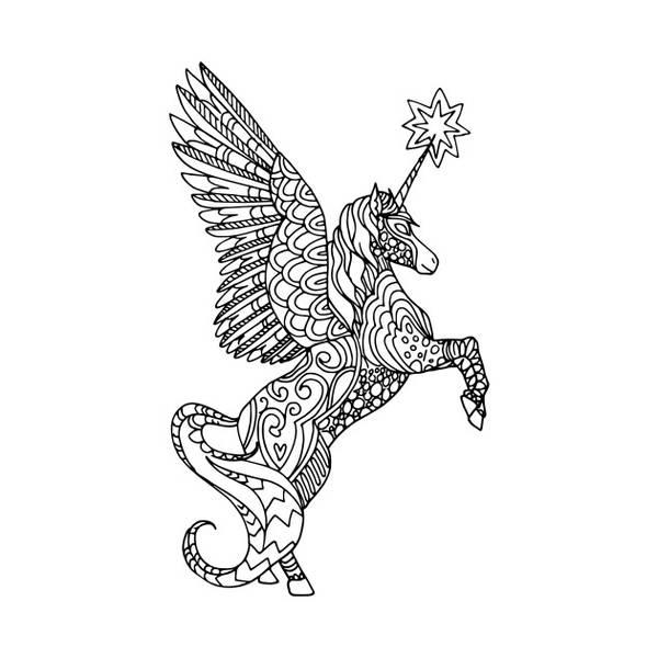 mandala dessin tatouage