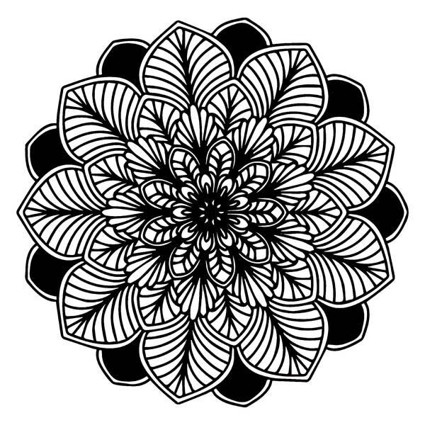 anti stress coloriage mandala